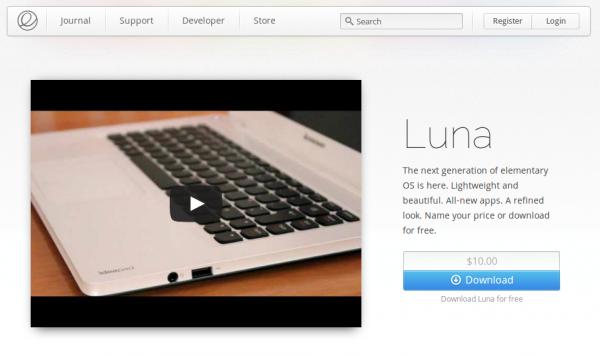 Luna s'écrase sur la terre : Sortie d'elementary OS 0.2 Final