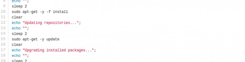 Simple script pour mettre à jour son elementaryOS