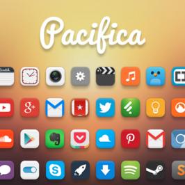 Pacifica, un pack d'icônes sexy pour votre eOS