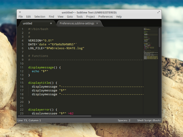 Sublime Text v3