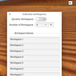 Indicator Workspace pour Freya