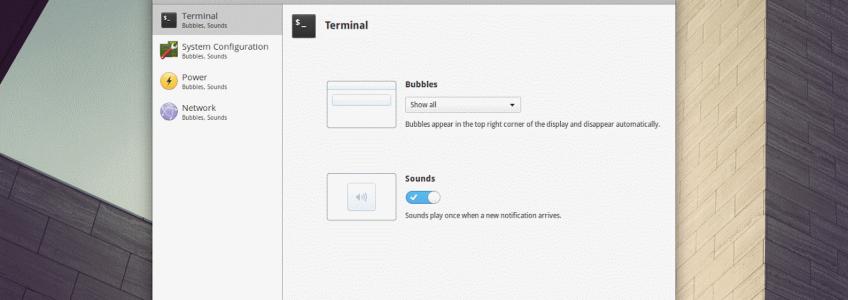Bientôt un plugin swicthboard pour les notifications