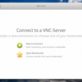 Client VNC pour elementary OS Freya