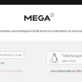 MEGA avec elementary OS
