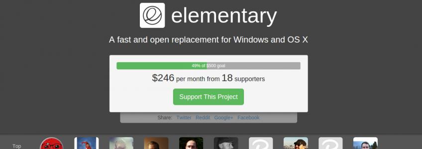 Une autre plateforme de crowdfunding pour elementary