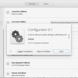Configurator, l'éditeur facile pour dconf