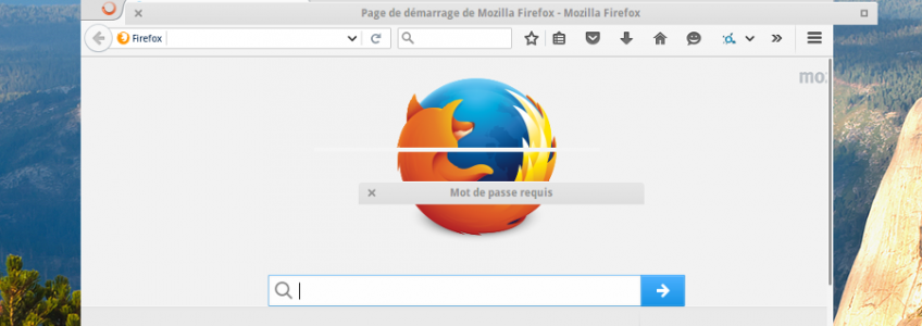 Firefox with GTK3 issue