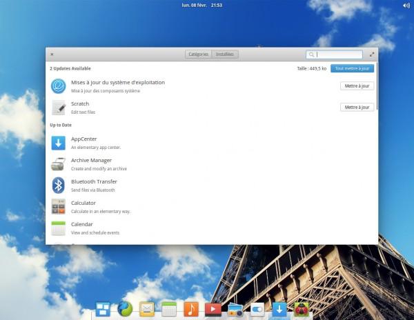AppCenter sous elementary OS Loki