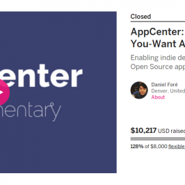 AppCenter & Indiegogo