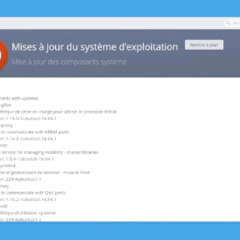 Mise à jour du Centre d'applications