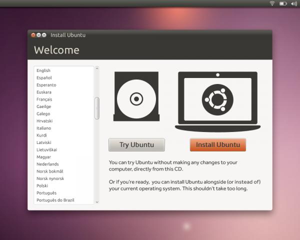 L'installateur officiel d'Ubuntu : Ubiquity